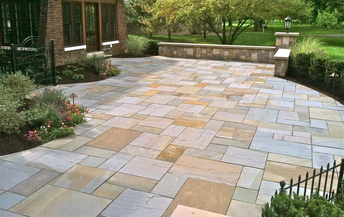 Perfect Bluestone Patio